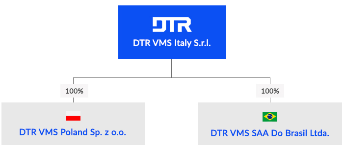Group organization DTR VMS Italy